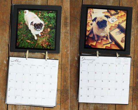 Любимые собачки на календаре