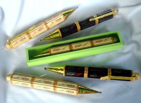 Ручки из шоколада