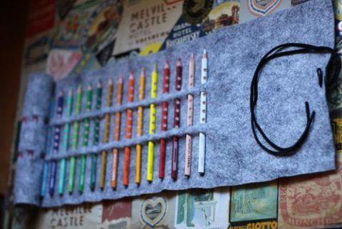 Вставляем карандаши