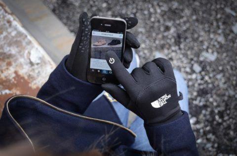 E-Tip перчатки для тепла и гаджетов