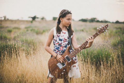 Гитара для будущей звезды