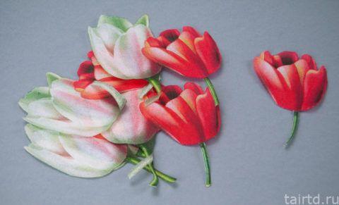 Готовые цветки