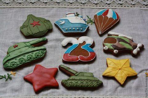Имбирное печень на 23 февраля