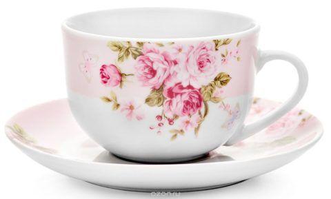 Изысканная чайная пара-прекрасный подарок