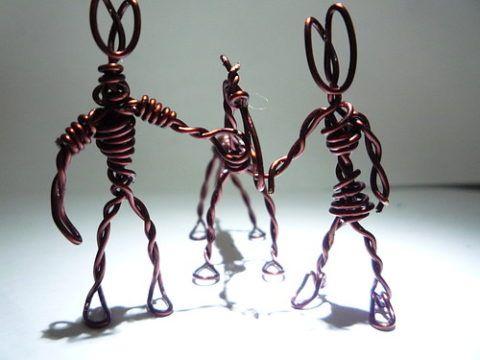 Каркас игрушек из проволоки