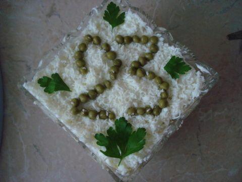 Крепкий салат для мужчины