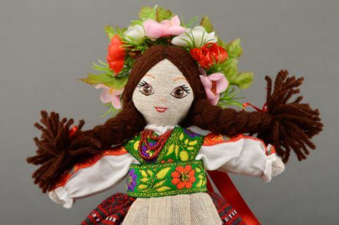 Кукла в этно стиле