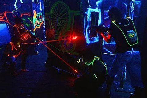 Лазерный paintball