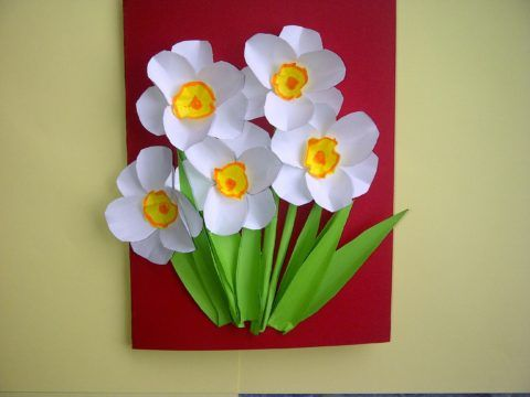 Милый цветочек для бабушки.
