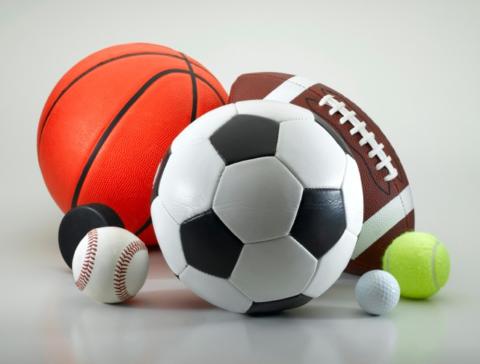 Мячи в подарок спортсмену