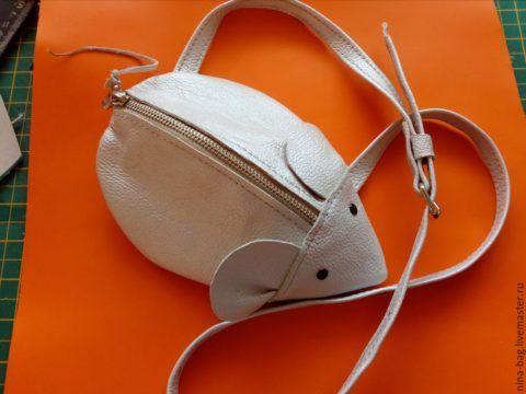 Мышка-сумка готова