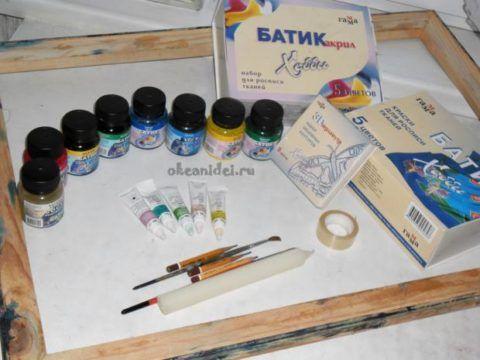 Набор для росписи по шелку