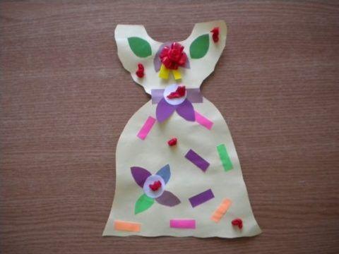 Новое платье для мамы своими руками