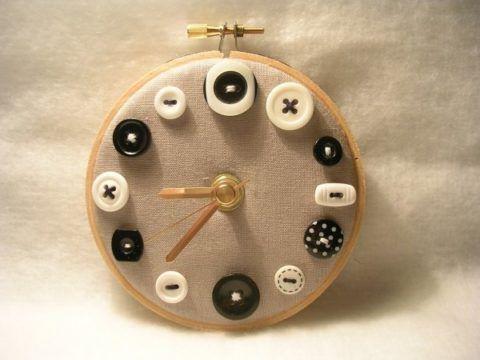Оригинальные текстильные часы