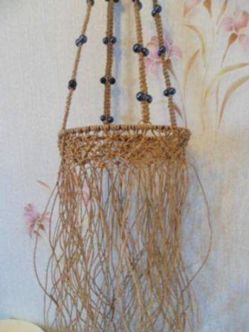 Плетение декора – кашпо