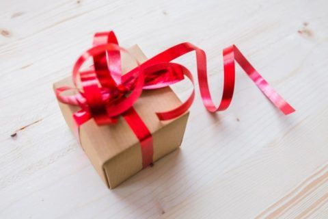 Подарочная коробка.