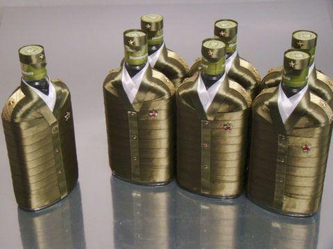 Подарочный алкоголь ко Дню защитника Отечества