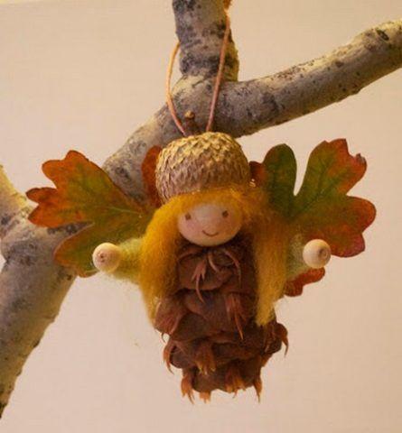 Подарок, лесной ангел.