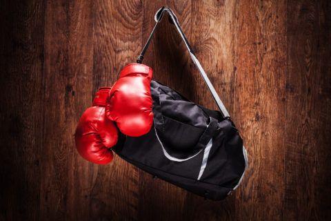 Подарок на 14 февраля для мужчины: боксерские перчатки