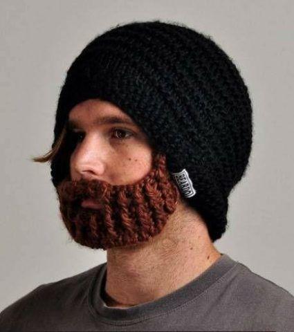 Подарок, шапочка «борода».