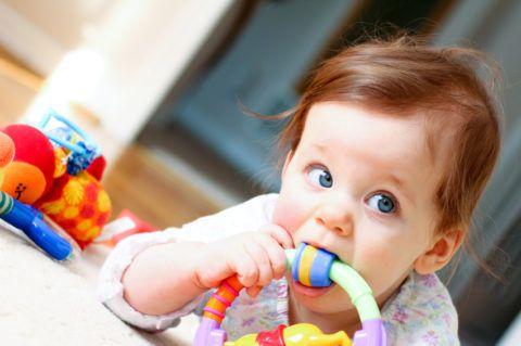 Погремушка – любимая игрушка малыша