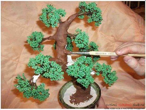 Покраска дерева