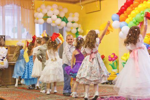 Празднование 8 марта в детском саду