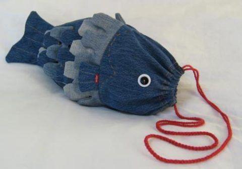 Презент, сумка «Рыбка».
