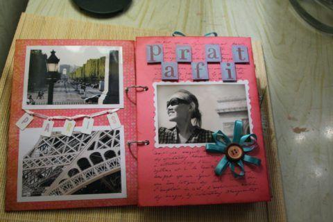Пример оформления альбома с фотографиями
