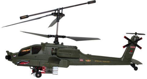 Радиоуправляемый вертолет: вспомнить детство!