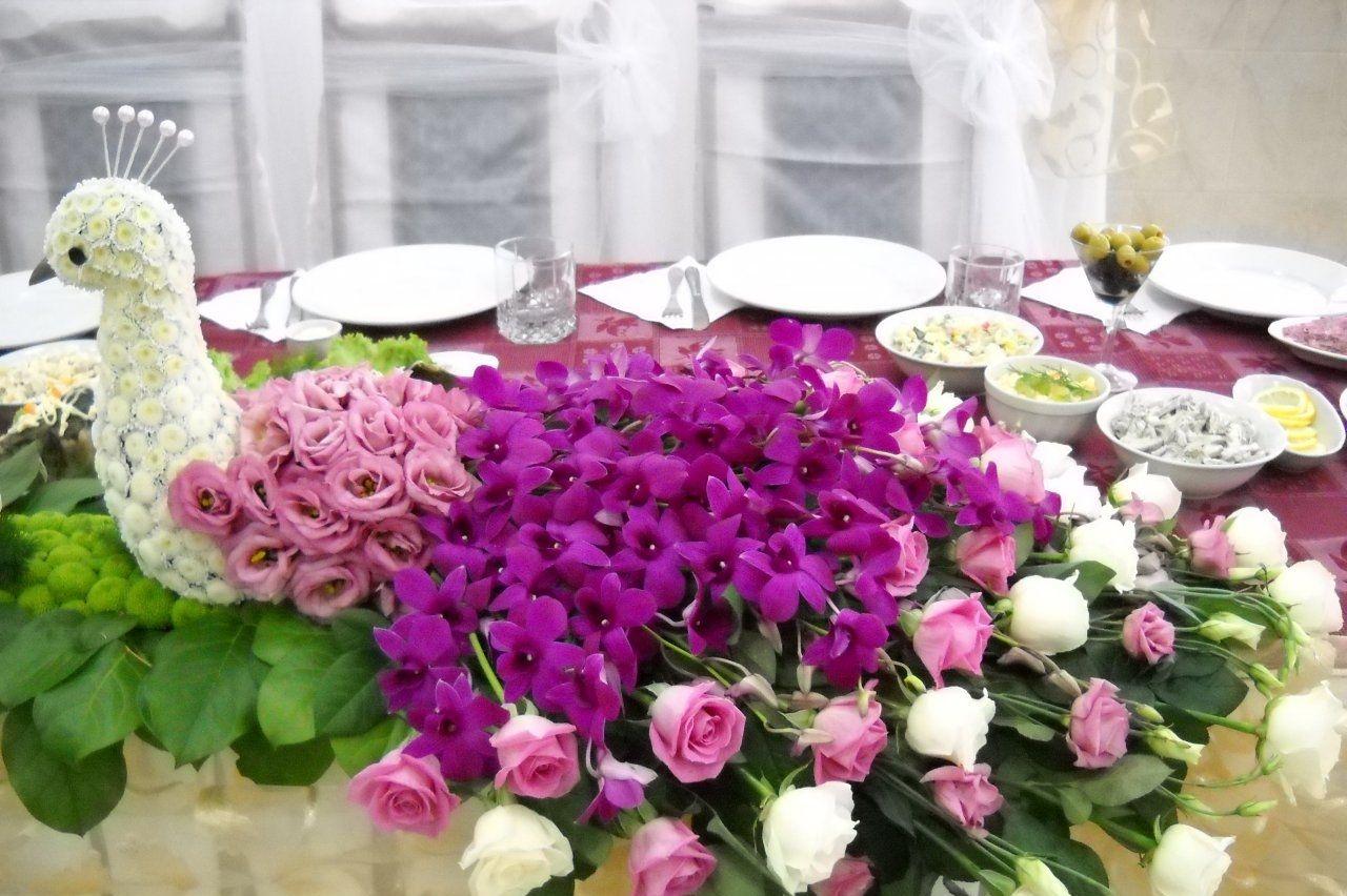 Необычные букеты из живых цветов на свадьбу