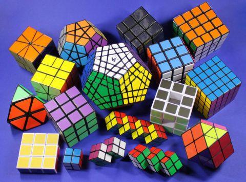 Разновидности кубика Рубика