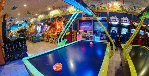 Развлекательный центр: возвращение в детство