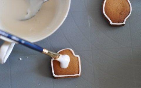 Рисуем на печенье