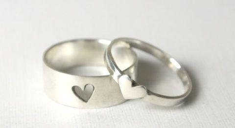 Романтичные кольца для него и для нее