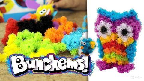 Самодельная игрушка из Bunchems