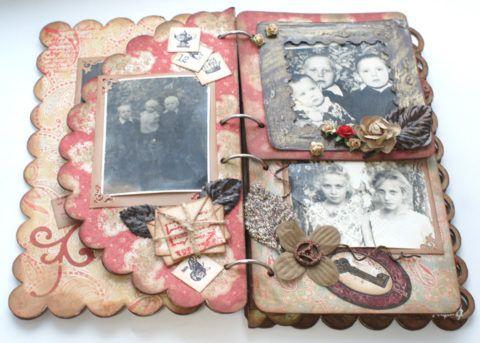 Семейный фотоальбом для брата
