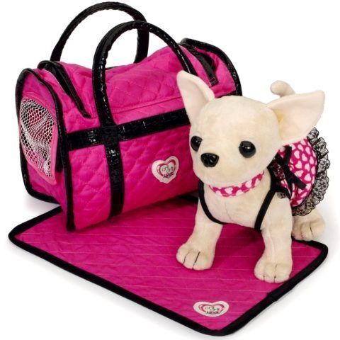 Собачка с сумочкой