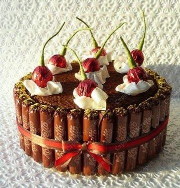 Торт вишенка.