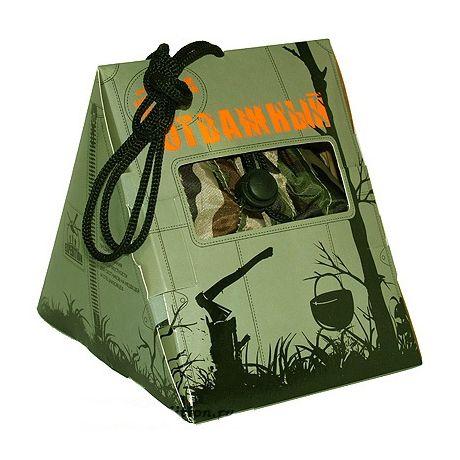 Упаковка подарка для мужчин «Отважный».