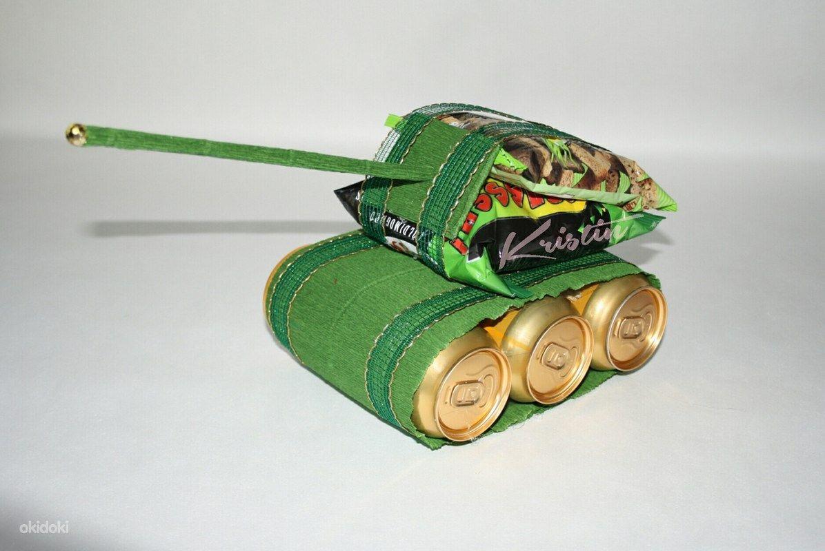 Как сделать танк из пива пошаговое