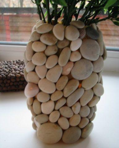Вот такая красота из обычной вазы!