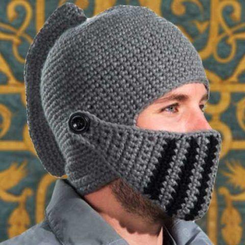 Вот такой шлем для настоящего воина!
