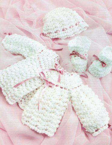Вязанная одежда для девочки
