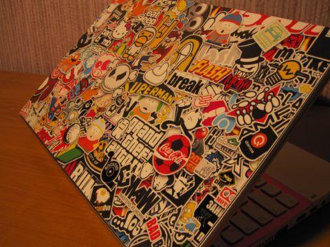 Заклейте весь ноутбук!