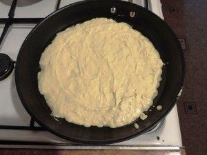 Жарим тесто
