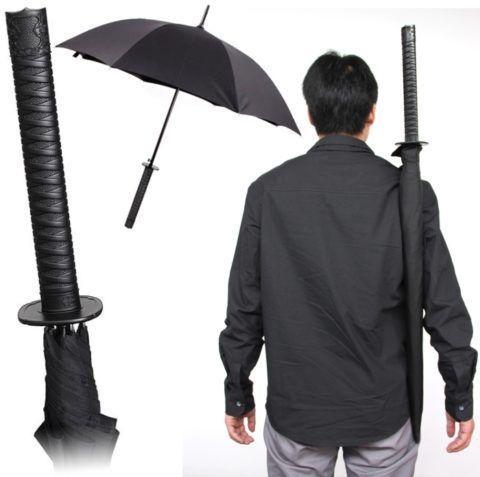 Зонт настоящего самурая