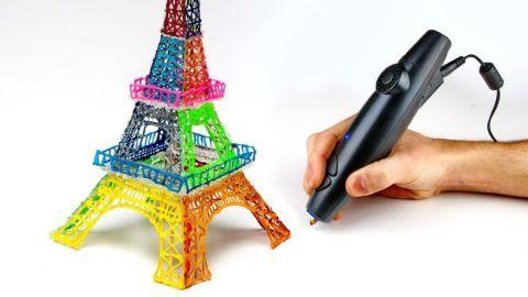 3D ручка холодного рисования