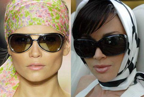 Аксессуары (очки, платки)