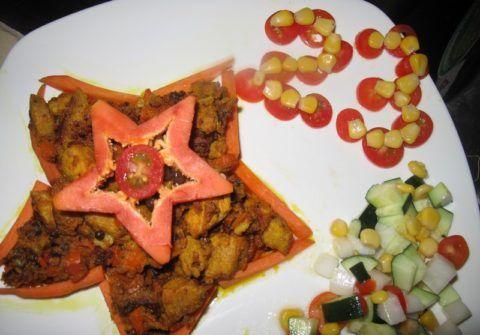 Блюдо «Звезда», подарок на день Защитника Отечества.